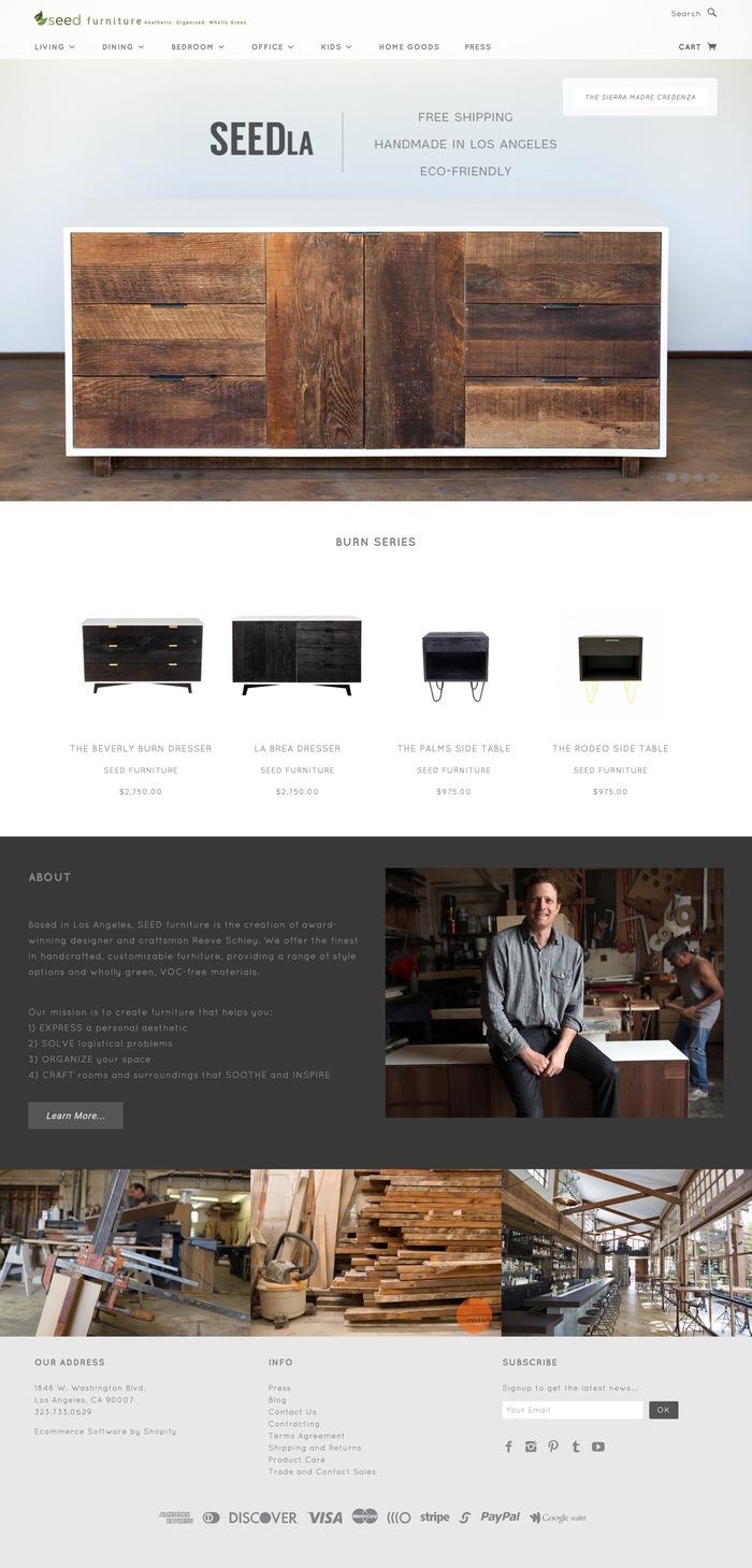Seed Furniture 1