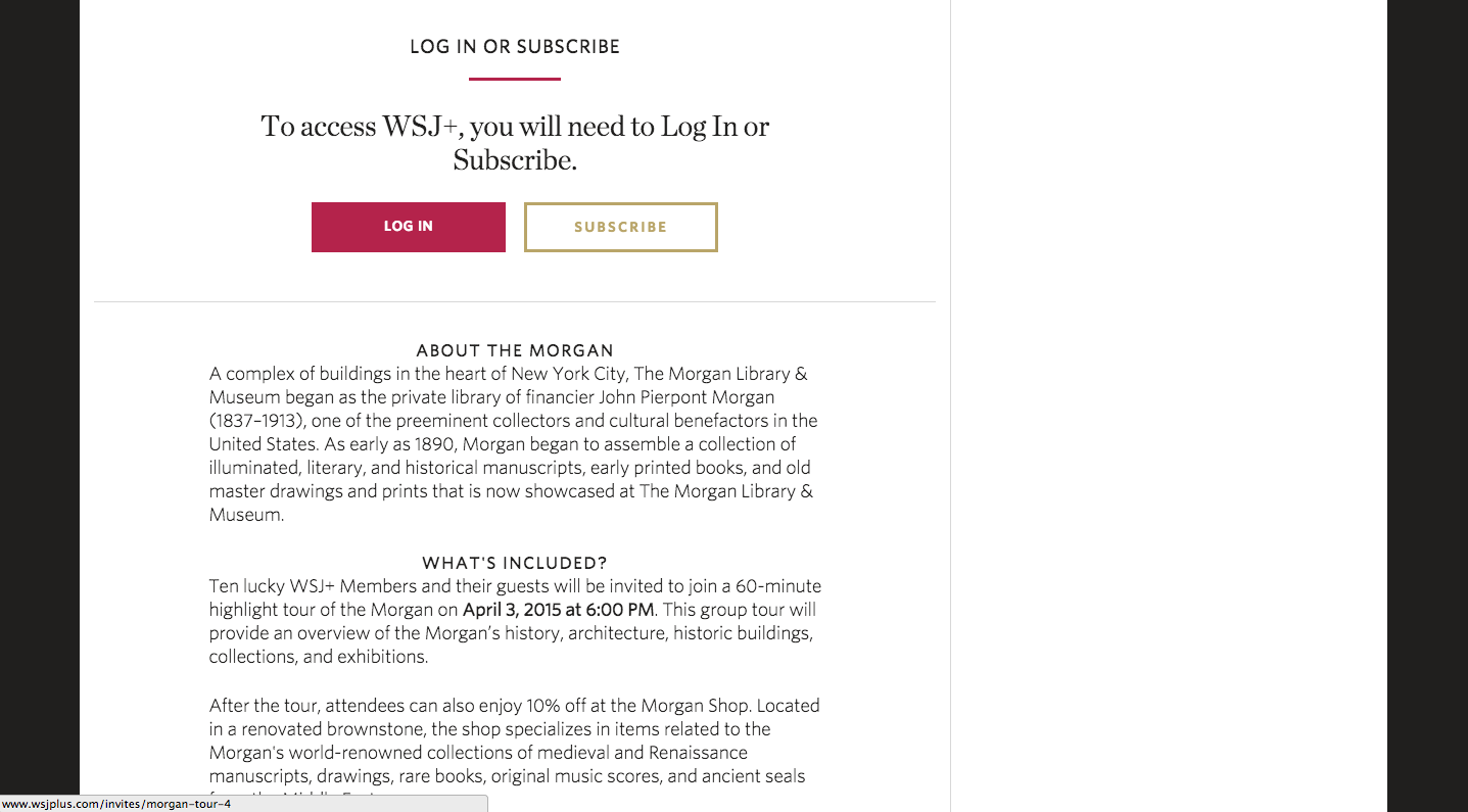 The Wall Street Journal Online Fonts In Use