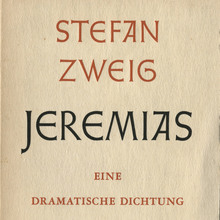 <cite>Jeremias</cite> by Stefan Zweig