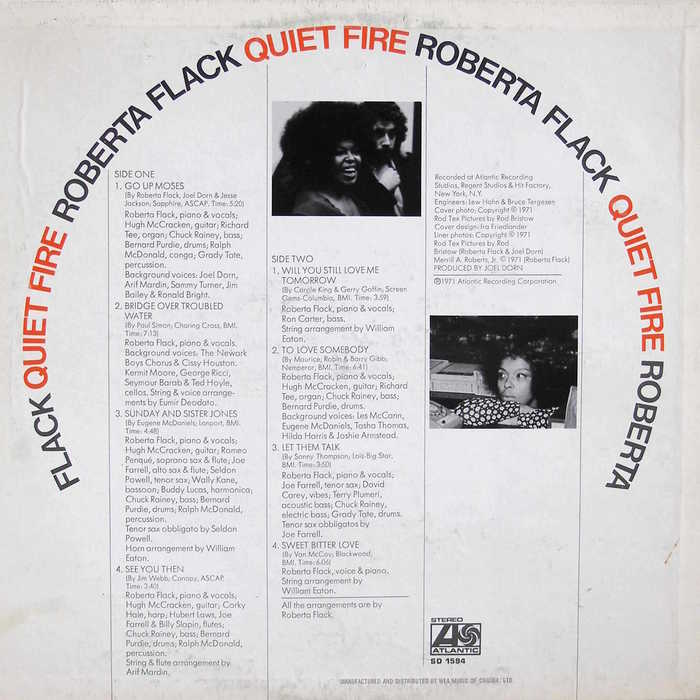 Quiet Fire by Roberta Flack 2