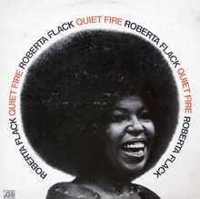 Roberta Flack – <cite>Quiet Fire</cite> album art