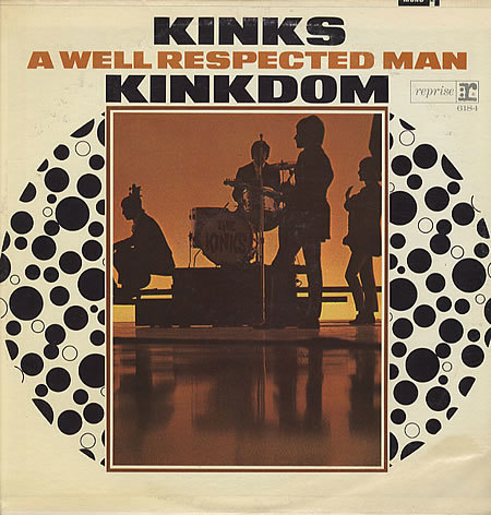 """A modified cover issued a few months after its release to emphasize the inclusion of the hit song A Well Respected Man."" — Discogs"