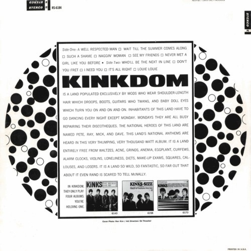 Kinkdom by The Kinks 2