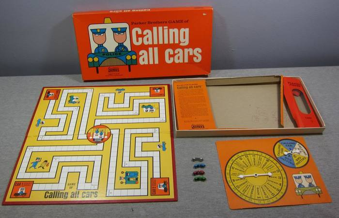 Calling All Cars board game, 3rd edition 3