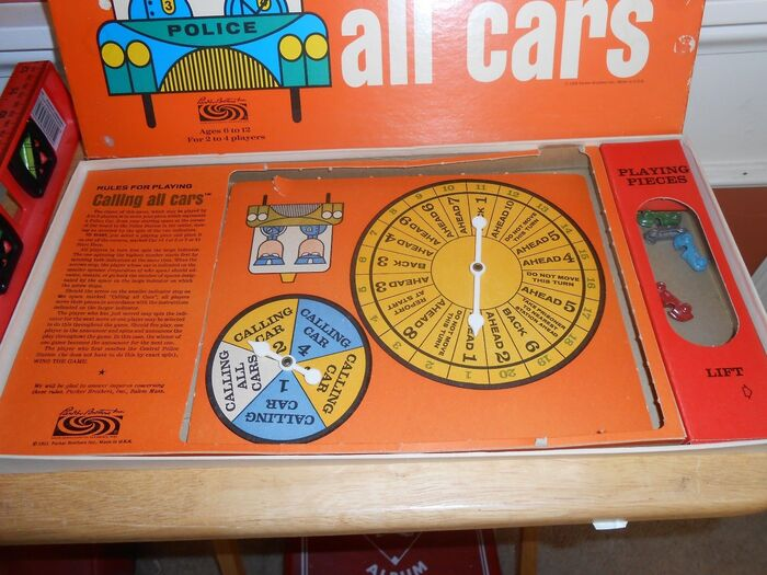 Calling All Cars board game, 3rd edition 5