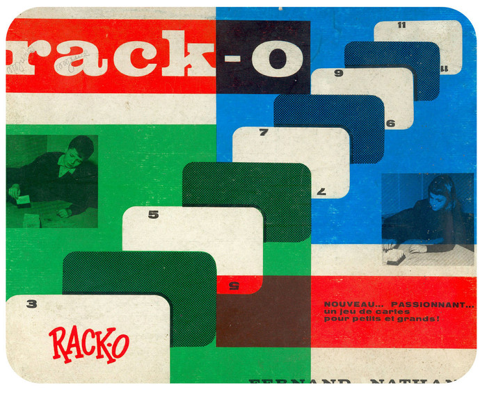 Rack-o game, French edition 1