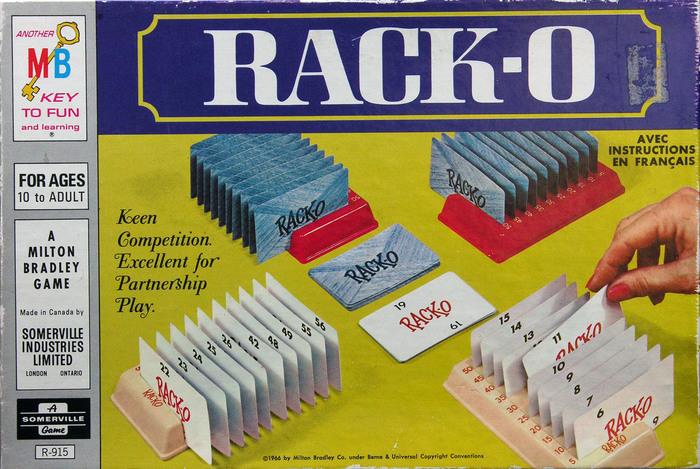 Rack-O, 1966 Canadian edition 1