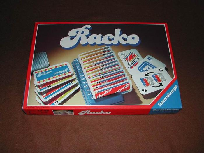 Racko (Rack-o), Ravensburger edition 1