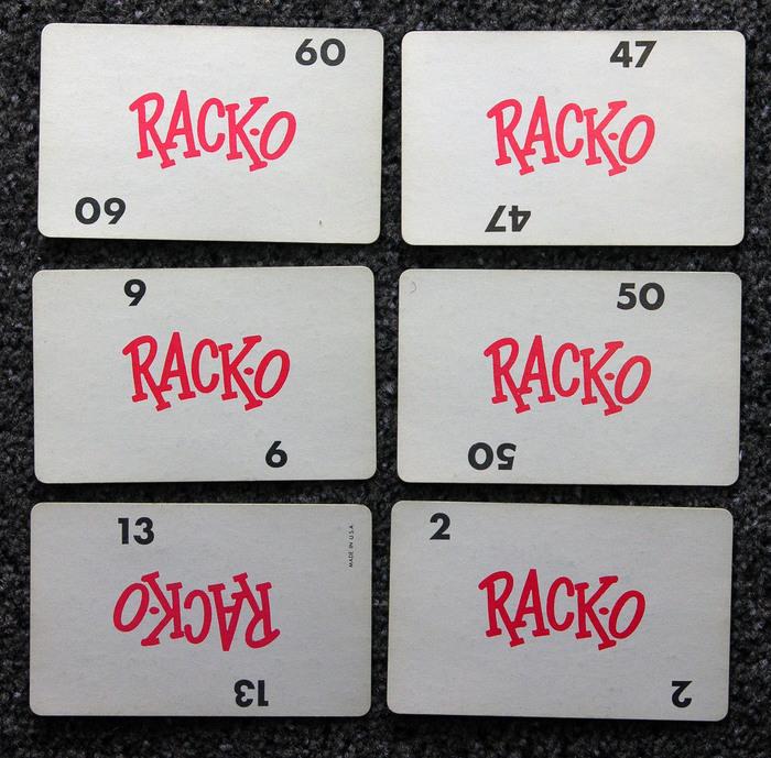 Rack-O, 1966 Canadian edition 2