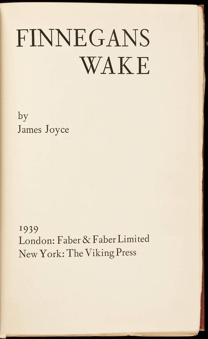 Limited edition title page.