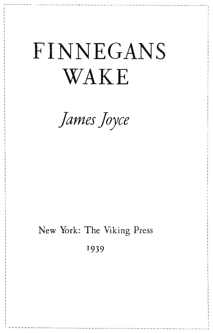 Viking Press title page.