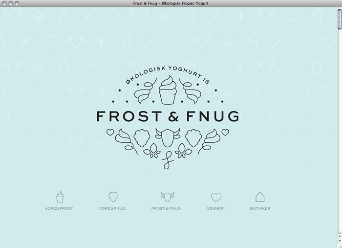 Frost & Fnug website 4
