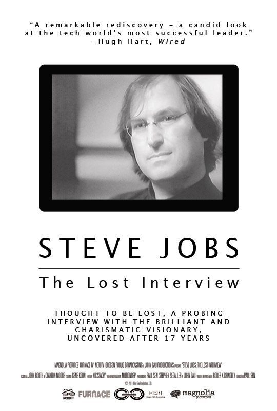 Steve Jobs. The Lost Interview movie poster