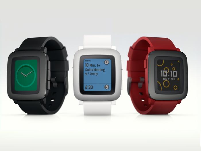 Pebble Time OS 1