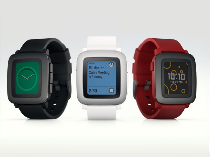 Pebble Time OS 1
