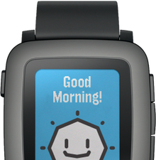 Pebble Time OS