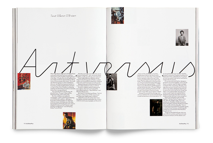 Anoscript for Another Man magazine 6