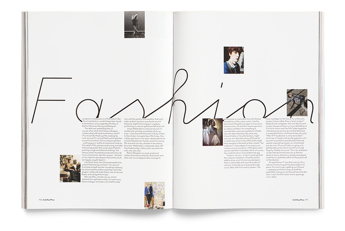 Anoscript for Another Man magazine 7