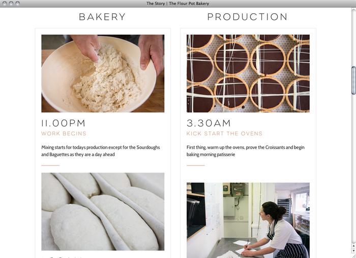 The Flour Pot Bakery website 3