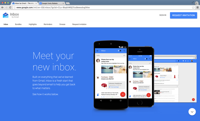 Inbox by Gmail 1