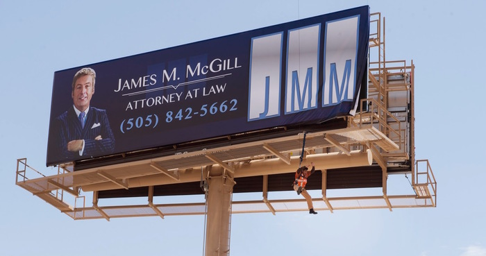 Better Call Saul: James M. McGill billboard 1