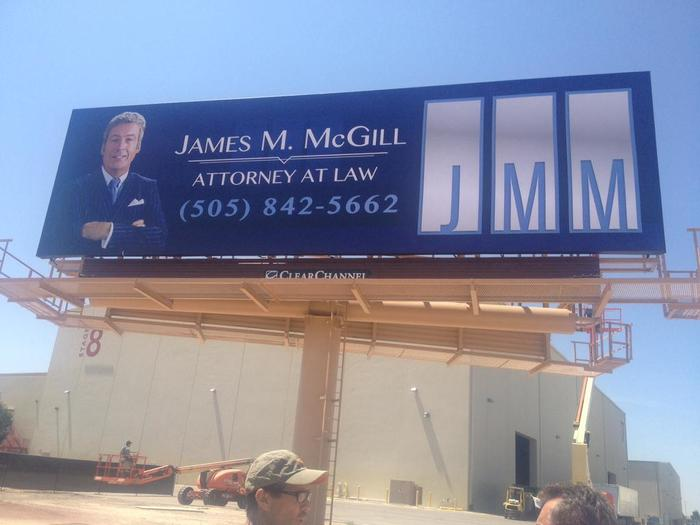 Better Call Saul: James M. McGill billboard 2