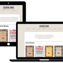Eccentric Books Website