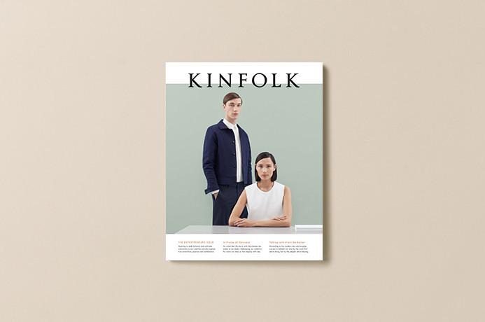 """Kinfolk Magazine, Issue 15 """"The Entrepreneurs Issue"""" 1"""