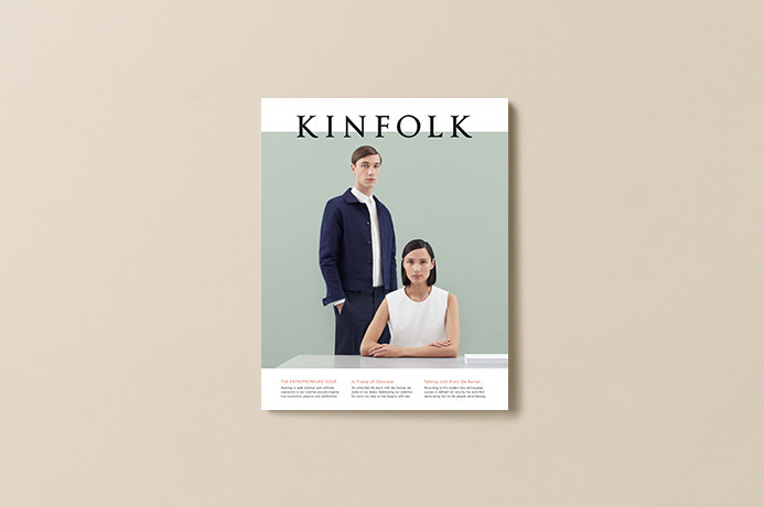 "Kinfolk Magazine, Issue 15 ""The Entrepreneurs Issue"" 1"