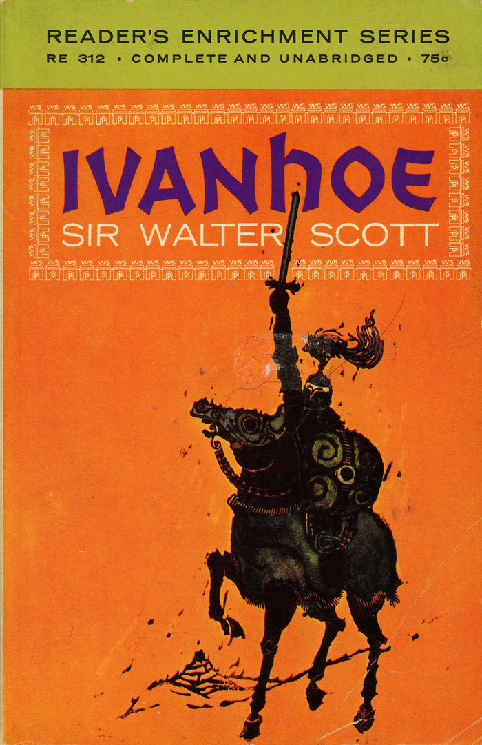 Ivanhoe by Sir Walter Scott (Washington Square Press edition)