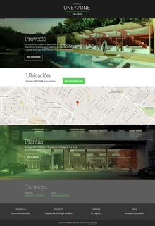 Dorrego ONE77ONE website