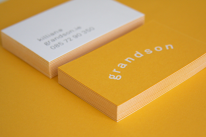 Business cards for Grandson.