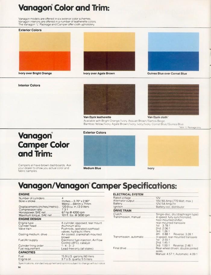 1980 Vanagon brochure 5