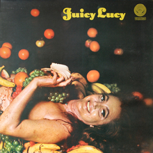 Juicy Lucy – <cite>Juicy Lucy</cite> ‎(Vertigo) album art