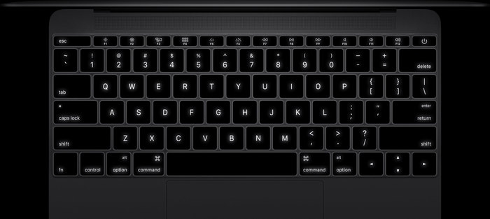 Apple MacBook Keyboard 2015 2