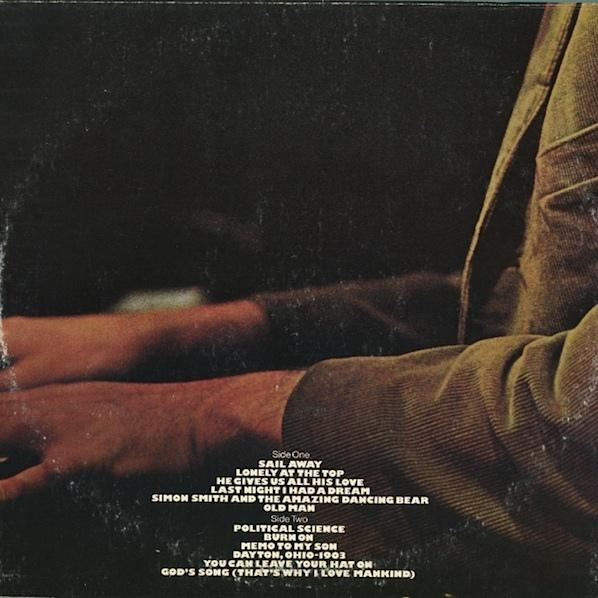 Sail Away by Randy Newman 2