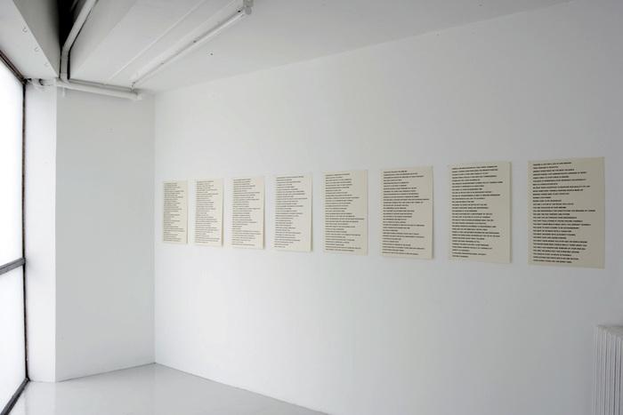 Truisms by Jenny Holzer, Between Bridges 1