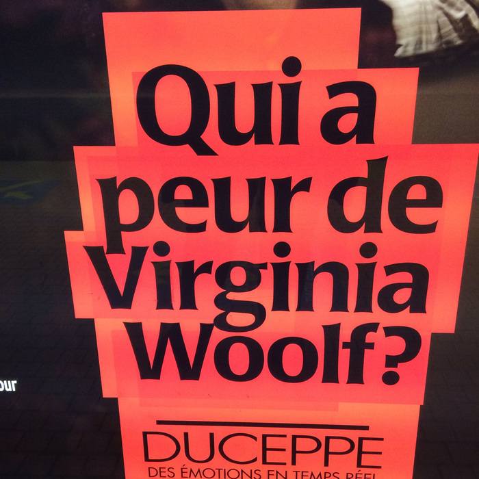 Qui a peur de Virginia Woolf? 3
