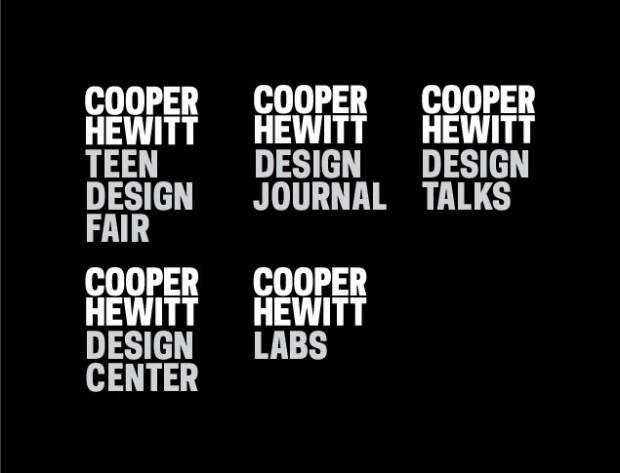Cooper Hewitt (2014) branding, wayfinding, website 5