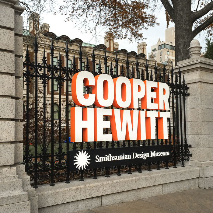 Cooper Hewitt (2014) branding, wayfinding, website 6