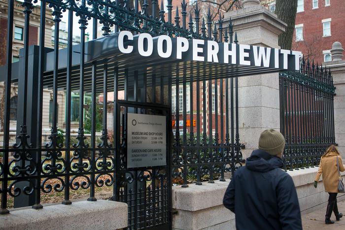 Cooper Hewitt (2014) branding, wayfinding, website 7