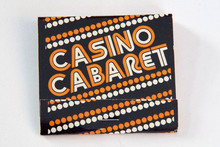Casino Cabaret matchbook