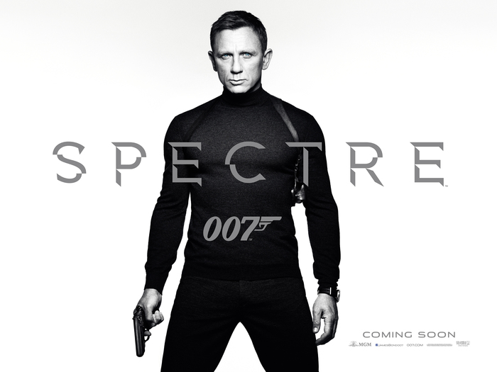 Spectre logo and teaser poster 1