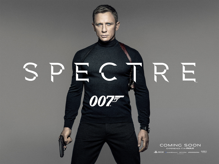 Spectre logo and teaser poster 2