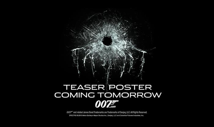 Teaser poster teaser, set in Stainless Extended.