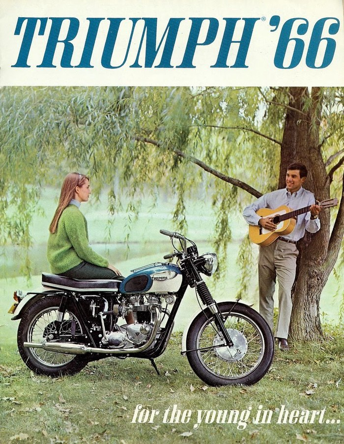 Triumph '66 brochure