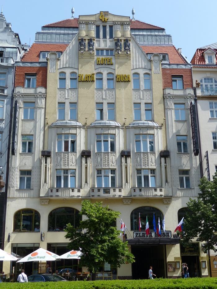 Hotel Zlatá Husa 2