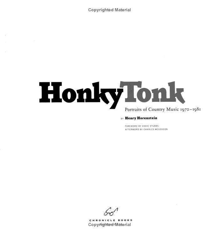 Honky Tonk: Portraits of Country Music, 1972–1981 2