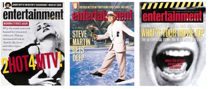 """As EW entered its second year it began to feature striking cover graphics and photography."" — Robert Newman, SPD Grids"