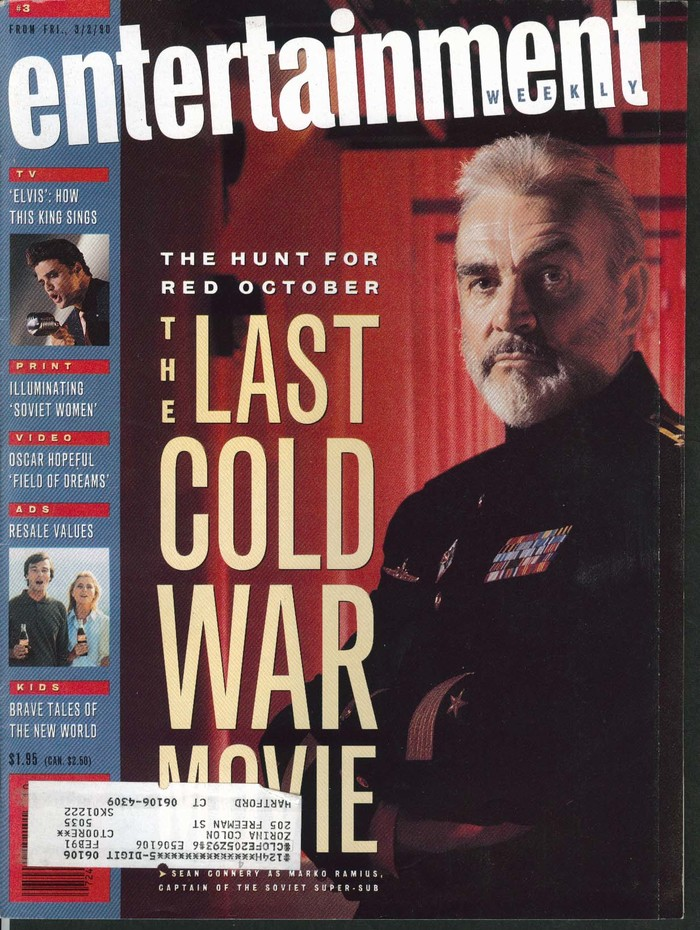 Entertainment Weekly covers, 1990–94 9